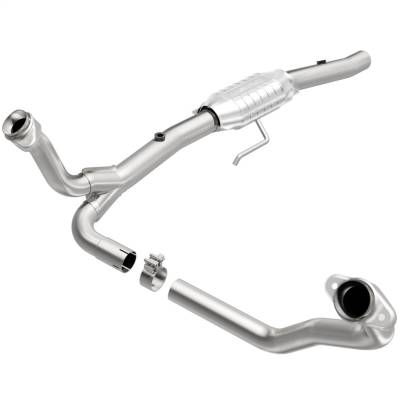MagnaFlow 49 State Converter - MagnaFlow 49 State Converter 93212 93000 Series Direct Fit Catalytic Converter
